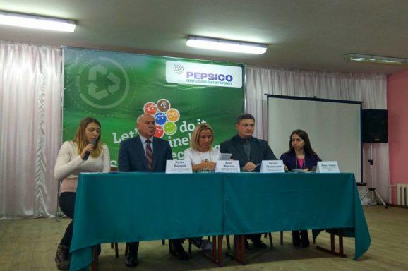 Старт проекту сортуванню сміття у школах Миколаєва
