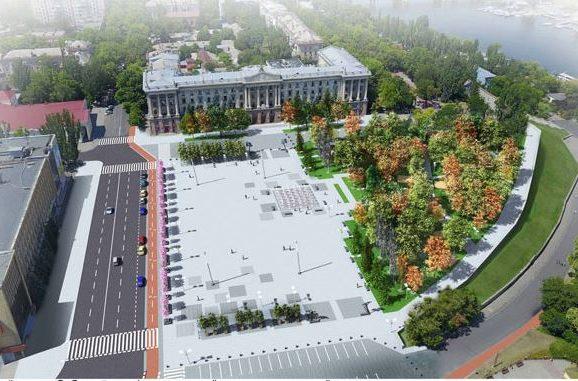 Архітектурний конкурс на концепцію реконструкції Соборної площі