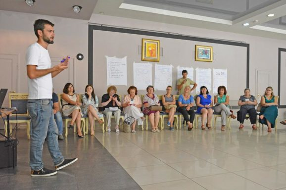 """Семінар """"Партиципаторний бюджет: шлях до налагодження діалогу у громаді"""""""