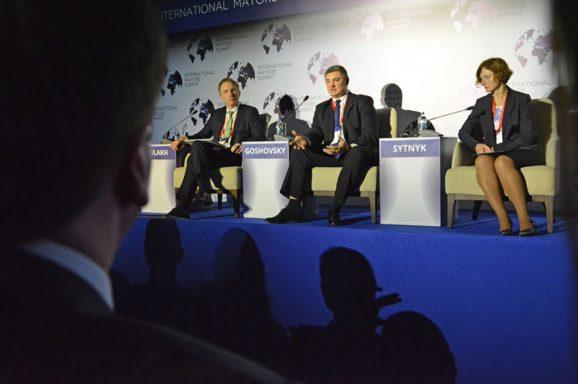 City Progress Index м. Миколаєва на саміті мерів