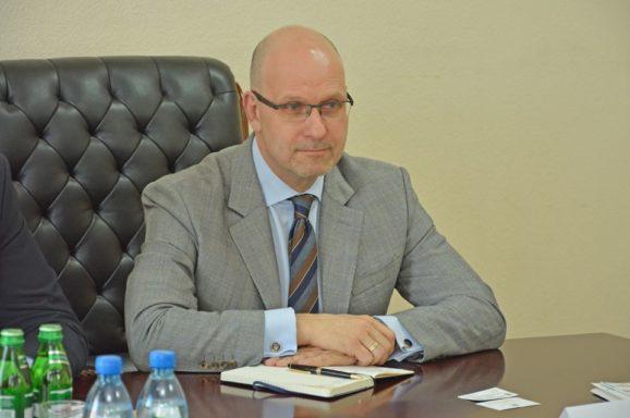 Зустріч із директором UkraineInvest Даніелем Білаком