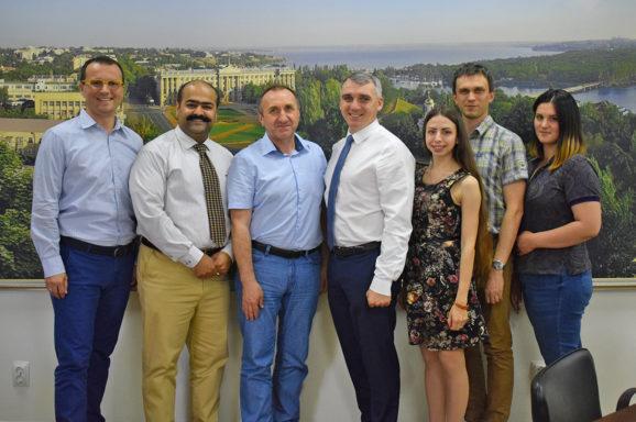 Зустріч із експертами міжнародного фонду UNIDO