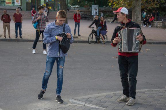 Флешмоб Freeze на вул. Соборній