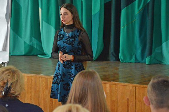 Семінар з роздільного збору відходів у школах