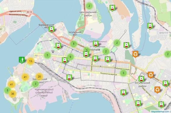 Створено мапу пунктів прийому вторинної сировини