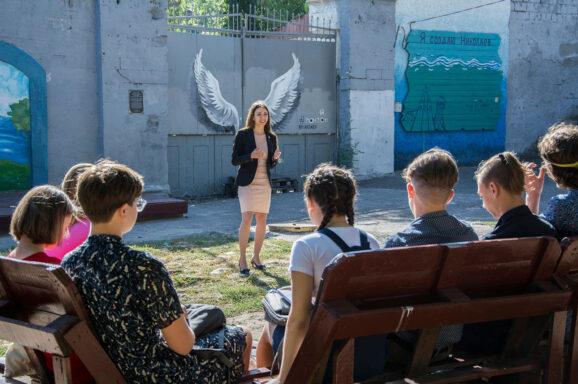 Лекція для студентів УАЛ на Понтоні